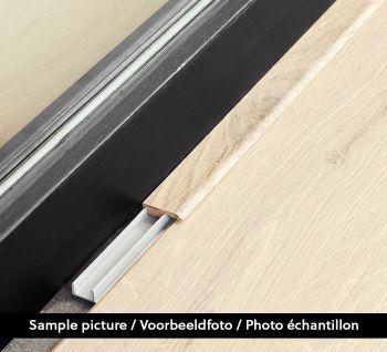 Eindprofiel Charme Dark Grey B7510 2.4m - per stuk