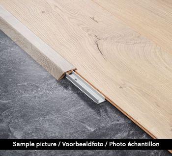 Aanpassingsprofiel Chestnut White B6201 2.4m - per stuk