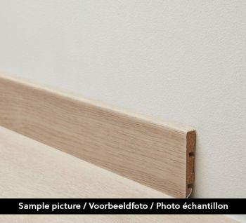 60mm Plint Vivid Natural Brown 2.4m - per 4 - 9.6m