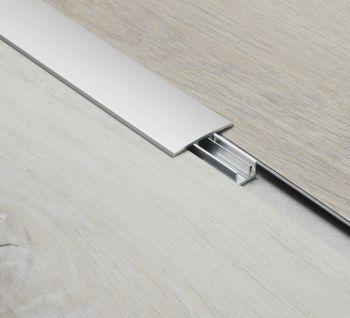 T-profiel Aluminium Zilver 2m - per stuk